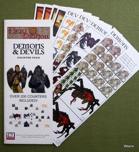 Image for Demons & Devils Counter Pack (D20 system)