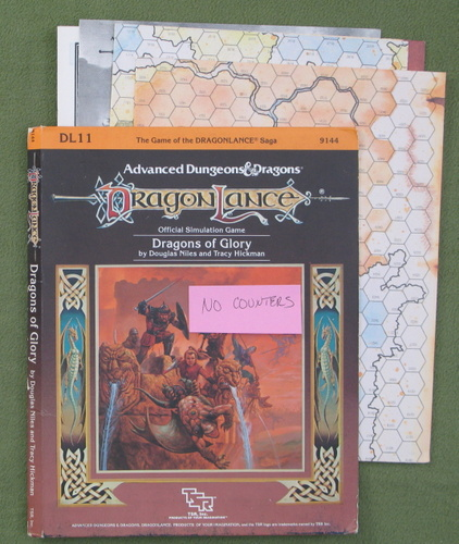 Image for Dragons of Glory (AD&D / Dragonlance) - NO COUNTERS