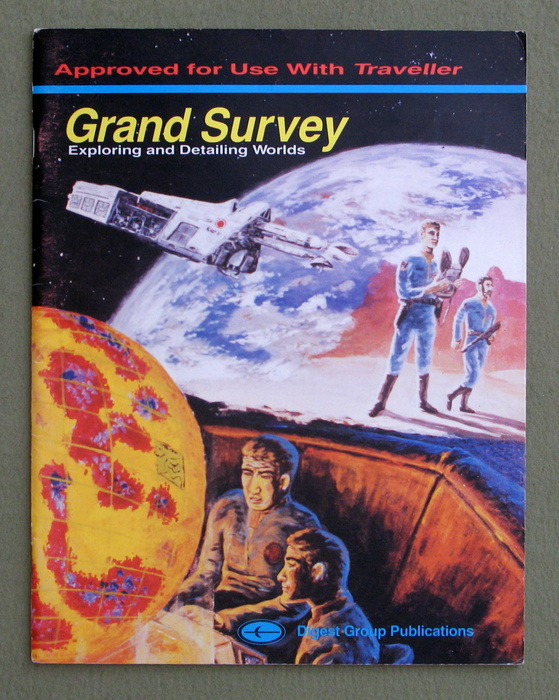 Image for Grand Survey: Exploring and Detailing Worlds (Traveller)