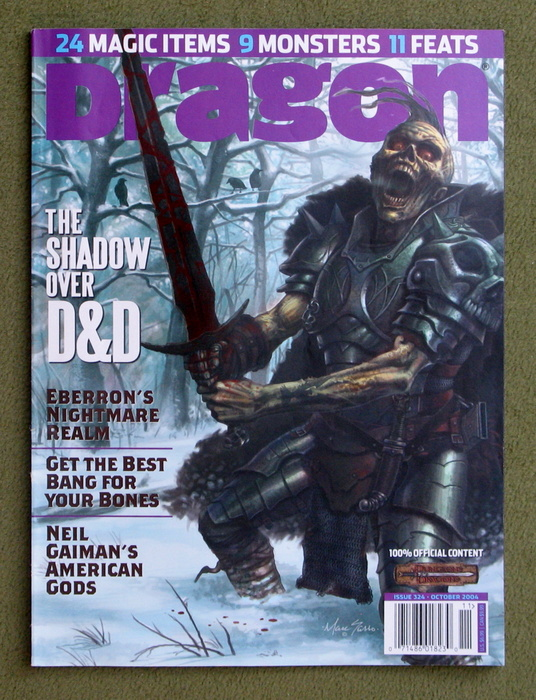 Image for Dragon Magazine, Issue 324