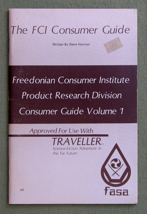 Image for FCI Consumer Guide (Traveller)
