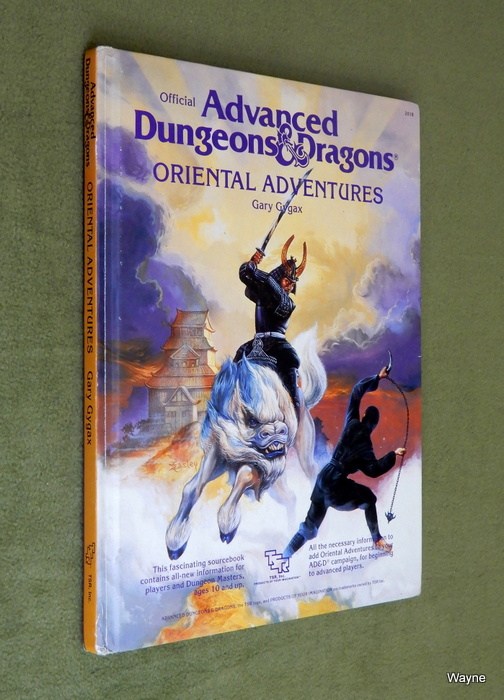 Image for Oriental Adventures (Advanced Dungeons & Dragons)
