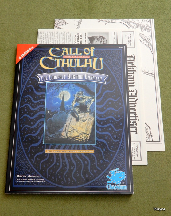 Image for The Compact Arkham Unveiled (Call of Cthulhu)