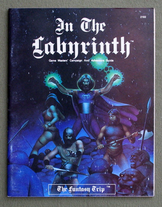 Image for In The Labyrinth (The Fantasy Trip)