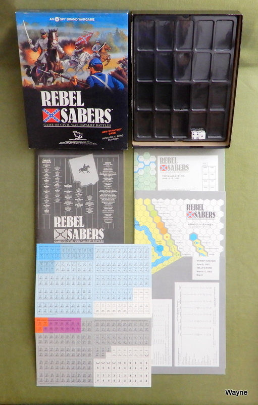 Image for Rebel Sabers: Game of Civil War Cavalry Battles
