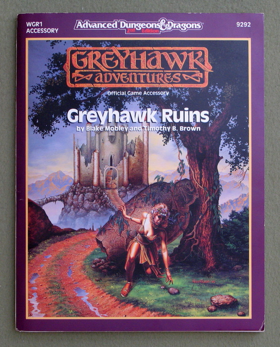 Image for Greyhawk Ruins (Advanced Dungeons & Dragons module WGR1)
