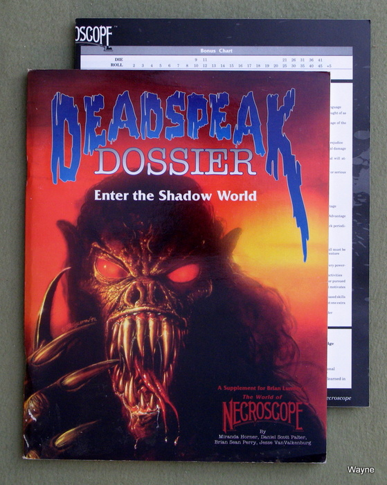 Image for Deadspeak Dossier: Enter the Shadow World (World of Necroscope)