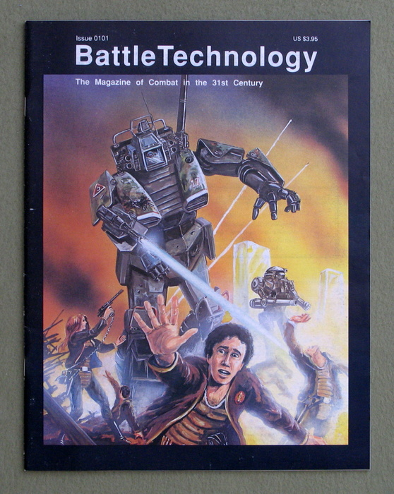 Image for BattleTechnology Magazine, Issue 0101 (Battletech)