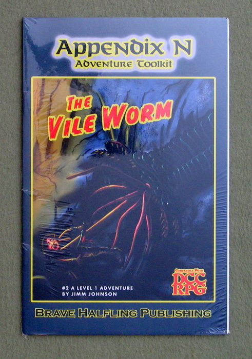 Image for Appendix N Adventures Toolkit #2 - The Vile Worm (Dungeon Crawl Classics)