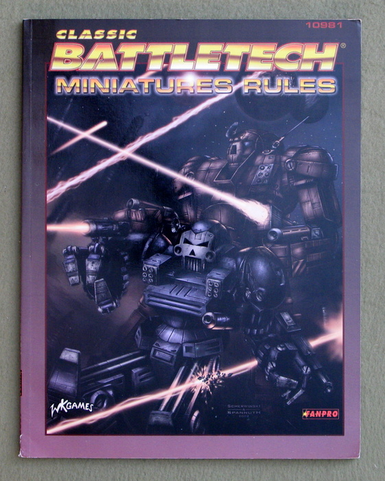 Image for Classic Battletech Miniatures Rules