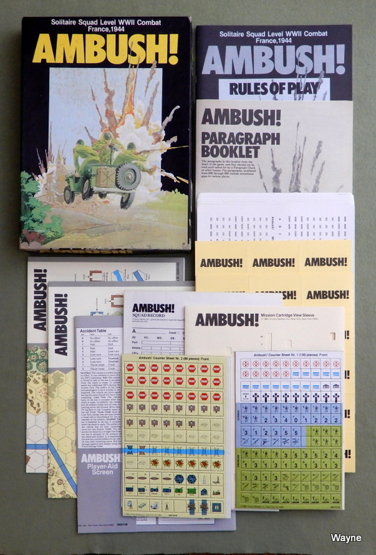 Image for Ambush! Solitaire Squad Level WWII Combat