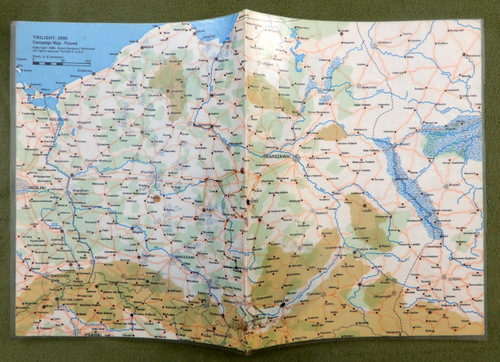 Image for Poland Campaign Map (Twilight 2000) - LAMINATED, WORN