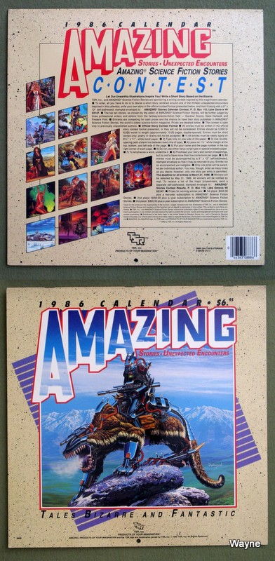 Image for 1986 Amazing Stories: Unexpected Encounters