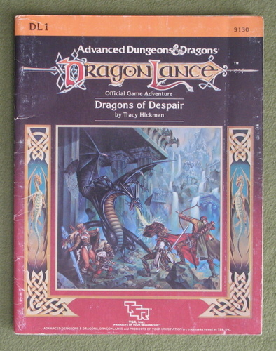 Image for Dragons of Despair (AD&D / Dragonlance) - PLAY COPY