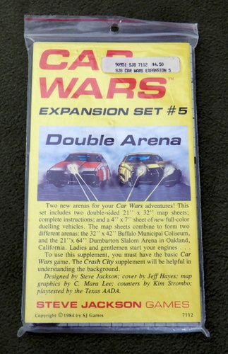 Image for Car Wars Expansion Set #5: Double Arena