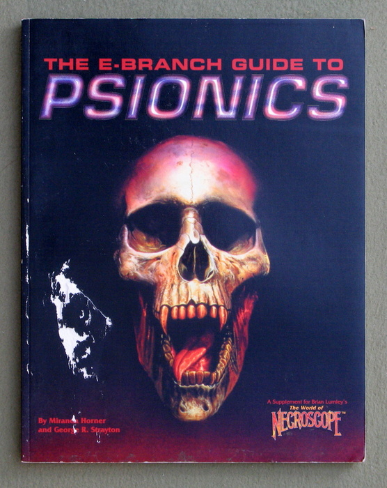 Image for E-Branch Guide to Psionics (World of Necroscope)