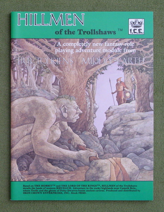 Image for Hillmen of the Trollshaws (Middle Earth Role Playing/MERP)