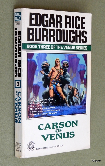 Image for Carson of Venus (Venus Series, No. 3)
