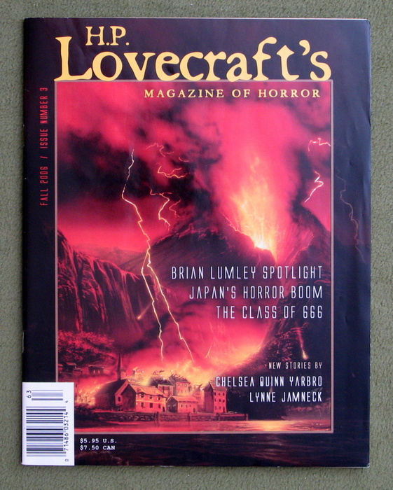Image for H.P. Lovecraft's Magazine of Horror, Issue 3