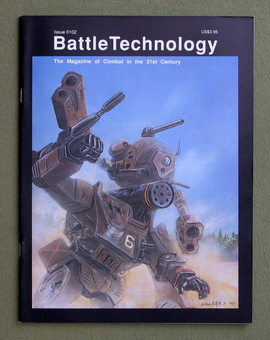 Image for BattleTechnology Magazine, Issue 0102 (Battletech)
