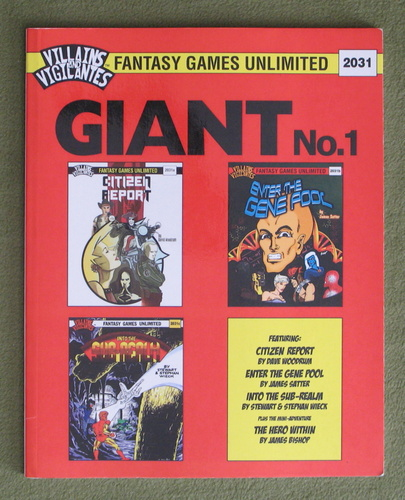 Image for Villains and Vigilantes: Giant No. 1