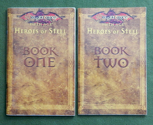 Image for BOOK ONE & TWO: Heroes of Steel (Dragonlance, 5th Age)