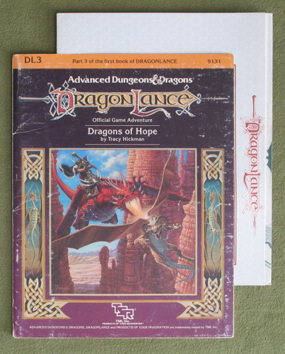 Image for Dragons of Hope (AD&D / Dragonlance) - PLAY COPY