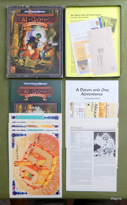 Image for A Dozen and One Adventures (AD&D: Al-Qadim) - PLAY SET