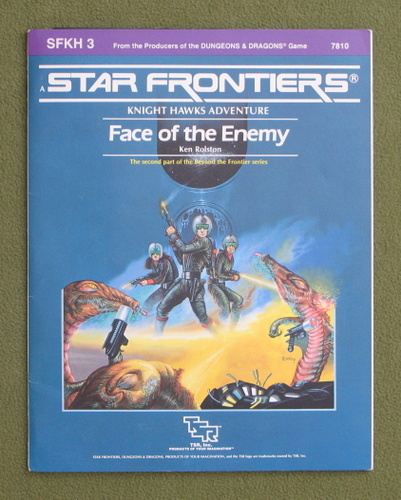 Image for Face of the Enemy (Star Frontiers module SFKH3)