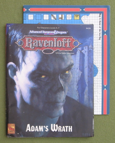 Image for Adam's Wrath (Advanced Dungeons & Dragons: Ravenloft Adventure)