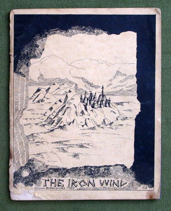 Image for The Iron Wind (1st Edition: Parchment Cover) - PLAY COPY