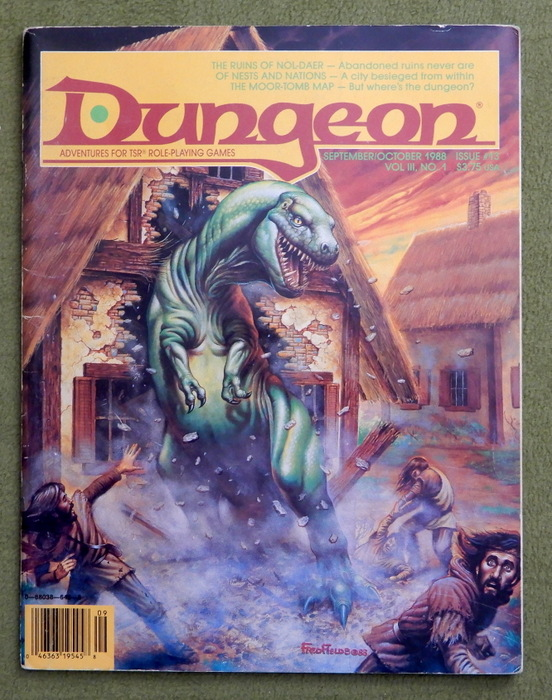 Image for Dungeon Magazine, Issue 13