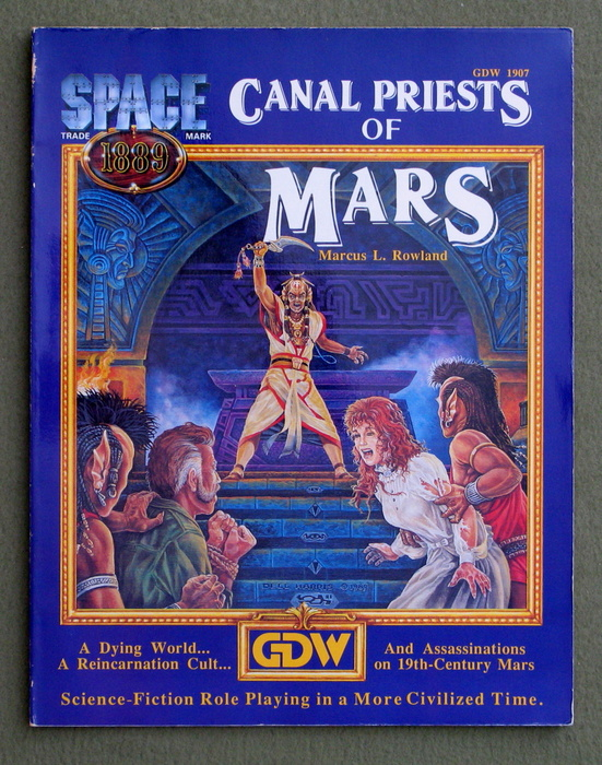 Image for Canal Priests of Mars (Space 1889)