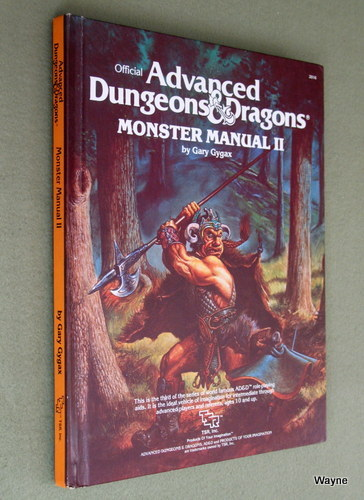 Image for Monster Manual II [2] (Advanced Dungeons & Dragons)