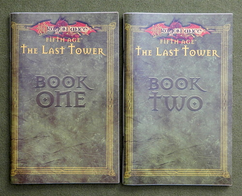 Image for BOOK ONE & TWO: The Last Tower (Dragonlance, 5th Age)