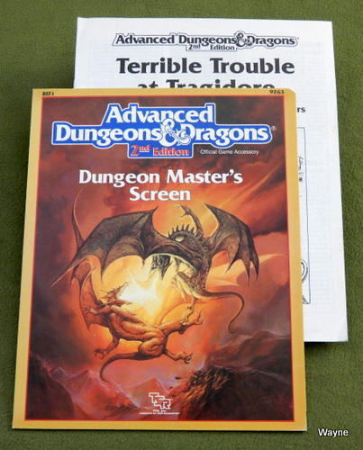 Image for Dungeon Master Screen (Advanced Dungeons & Dragons Accessory REF1)