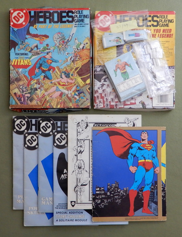 Image for DC Heroes Role Playing Game (1st edition) - PLAY SET