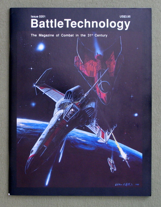 Image for BattleTechnology Magazine, Issue 0201 (Battletech)