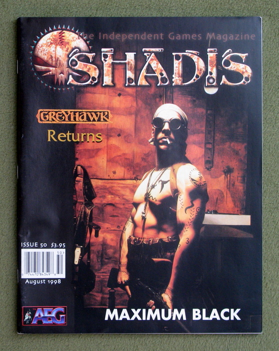 Image for Shadis: Independent Games Magazine, Issue 50
