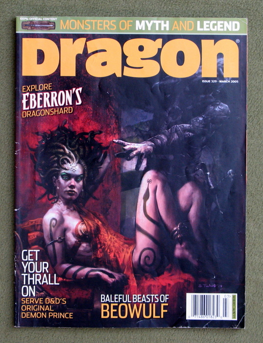 Image for Dragon Magazine, Issue 329