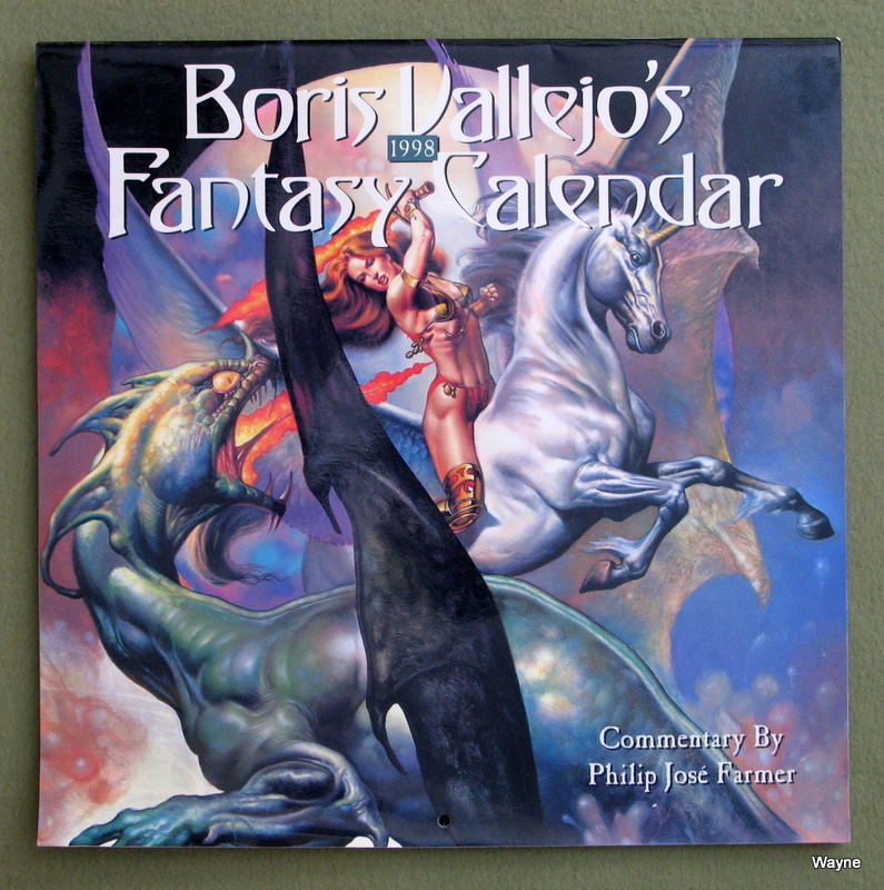 Image for 1998 Boris Vallejo's Fantasy Calendar
