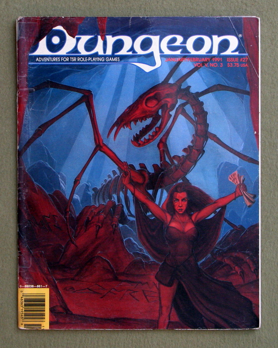 Image for Dungeon Magazine, Issue 27 - WORN