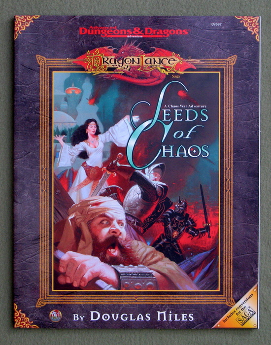 Image for Seeds of Chaos (Advanced Dungeons & Dragons/Dragonlance 5th Age: Chaos War Adventure)