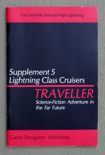 Image for Traveller Supplement 5: Lightning Class Cruisers - 1ST PRINT