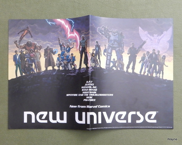 Image for Poster: Marvel Comics New Universe