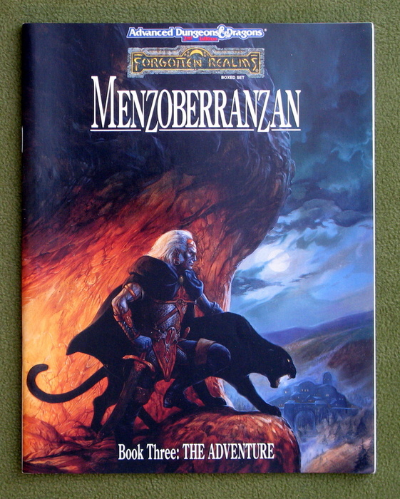 Image for Menzoberranzan, Book Three: The Adventure