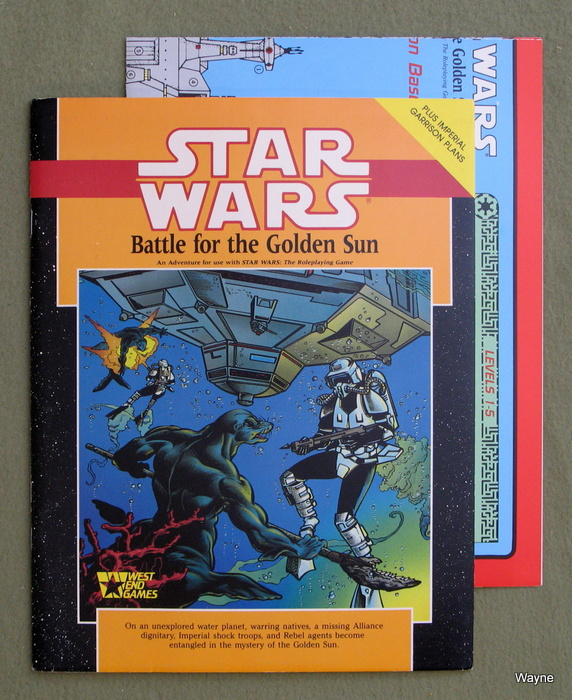 Image for Battle for the Golden Sun (Star Wars RPG)