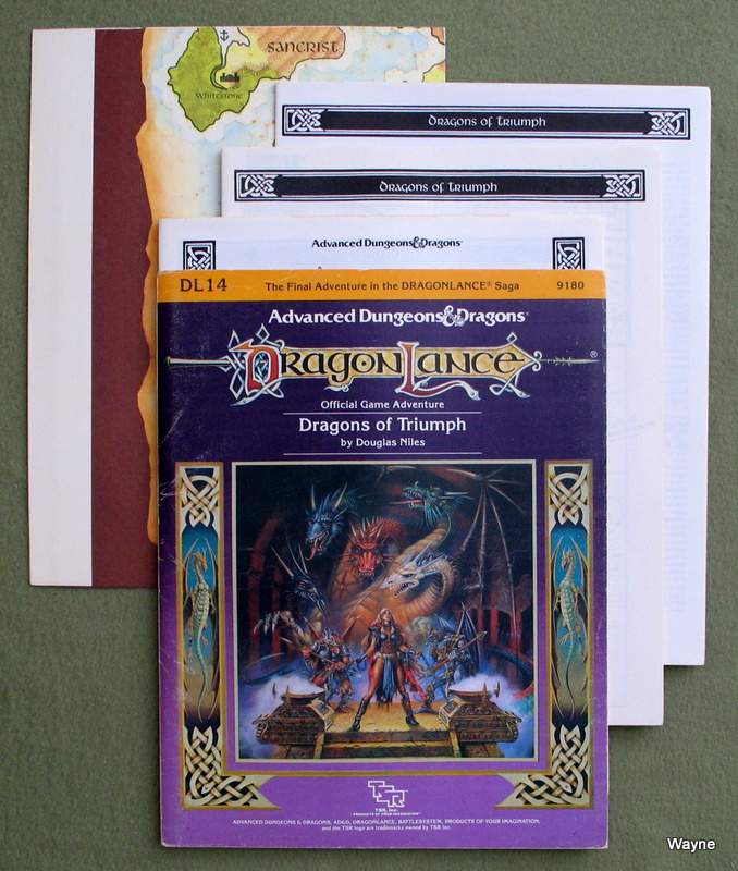 Image for Dragons of Triumph (Advanced Dungeons and Dragons: Dragonlance Module DL14)