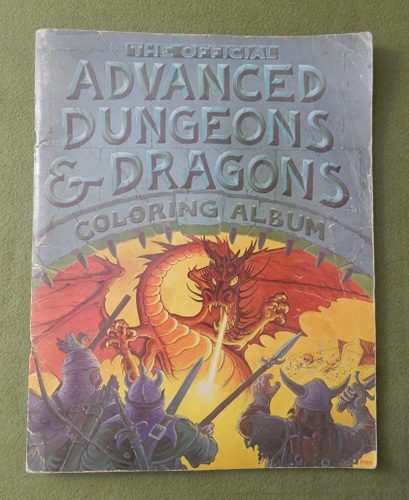 Image for Official Advanced Dungeons and Dragons: Coloring Album