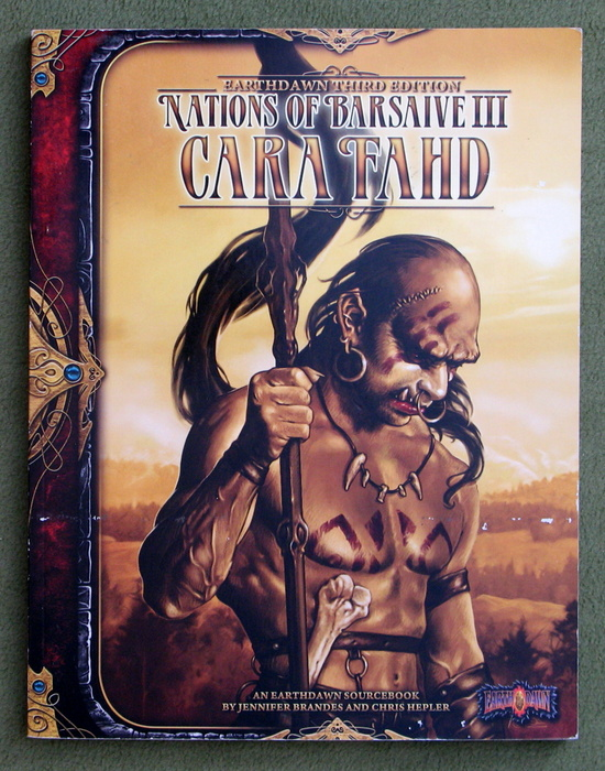 Image for Cara Fahd: Nations of Barsaive III (Earthdawn, Third Edition)